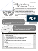 un simultion - declaration on prisons - assignment