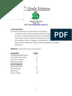 6th grade syllabus web