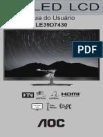 Manual LE39D743