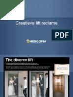 Creatieve Lift Reclame