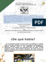 Presentación Para El Foro de Prácticas Profesionales.