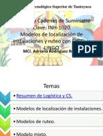 Modelos de Localizacion y Ruteo en LINGO