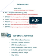 Hampson Russel-strata New Features