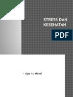 Stress Dan Kesehatan
