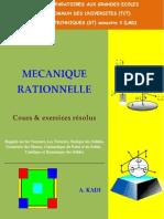 Mécanique Rationnelle