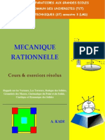 Mécanique Rationnelle
