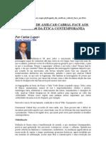 ÉTICA-O LEGADO DE AMILCAR CABRAL FACE AOS DESAFIOS DA ÉTICA CONTEMPORANEA