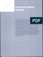 11 a Pricing for Global Markets