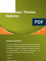 Inversion Titulos Valores