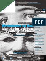 Movimientos en Red, identidades políticas y poder  ciudadano