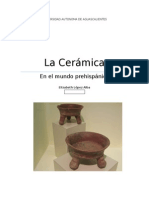 La Cerámica Prehispánica