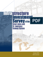 Infrastructure Investment Survey of the Great Lakes and St. Lawrence Seaway System