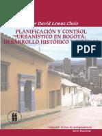 Planificacion Control Urbanistico Bogota