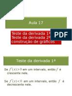 17-Teste Da Derivada 1a e 2a