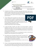 FT 10 - Programação Linear