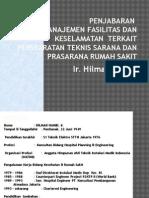 3 Penjabaran Manajemen Fasilitas Dan Keselamatan  Terkait Persyaratan Teknis Sarana Dan Prasarana.ppt