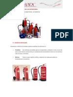 3. Clasificacion de Extintores