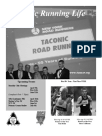 Taconic Road Runners Spring 2008 Newsletter