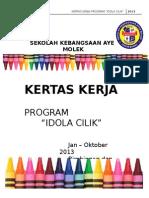 Kertas Kerja Program Tokoh Budiman 2013