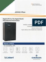 Hipulse80-400 3 Phase Catalogue 80Kva 400Kva