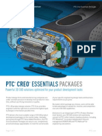 PTC Creo Essentials Packages Brochure