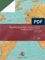 Panorama Geopolirtico de Los Conflictos 2013