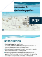 Introduction to Subsea pipe lines