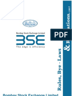 Bse regulation and rules