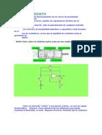 Funcionamiento Sensor Capacitivo