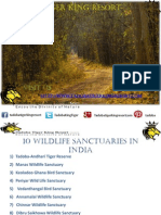 10 WildLife Sanctuaries in India (2 Files Merged)