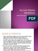 Kajian Drama Indonesia-ppt 1- Unsur&Struktur Karya