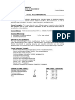 Fin 122 Syllabus_Investment Banking