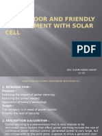 Smart Door and Friendly Environment With Solar Cell