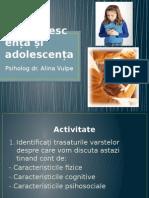 Adolescenta Si Preadolescenta