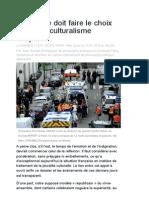 Alain Renaut, Pour un multiculturalisme tempéré
