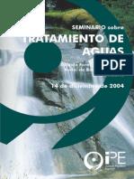 Seminario Tratamiento de Aguas 2004 Folleto