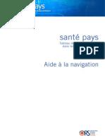 SANTE PAYS GUIDE Utilisation Leger