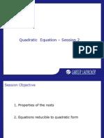 02. Quadratic Equations-2