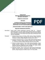 Permendiknas Ri No 40 Tahun 2008 Standar Sarana Dan Prasarana Smk