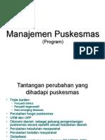 Manajemen Puskesmas 1