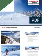 Winter Imagebroschüre (4 Sprachen) - Kitzbüheler Alpen St. Johann in Tirol
