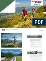 Sommer Imagebroschüre (4 Sprachen) - Kitzbüheler Alpen St. Johann in Tirol