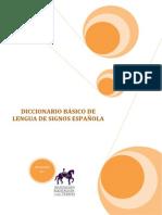 Diccionario de Lengua de Signos Espac3b1ola