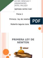 presentacion  97-2003 Primera ley de Newton