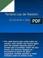 Tercera Ley de Newton
