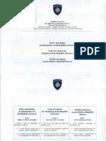 01-927 Kodi Miresjelljes Se Ndermjetesve Ne Republiken e Kosoves