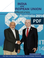 India and The European Union Milestones