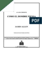 Allen James Como El Hombre Piensa