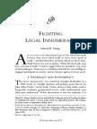 Fighting Legal Innumeracy by Edward k. Cheng