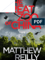 The Great Zoo of China by Matthew Reilly Extract